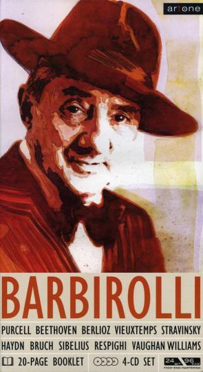 John Barbirolli. Set im Buchformat. 4 CDs.