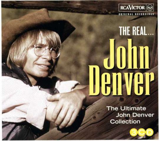 John Denver. The Real... John Denver. 3 CDs.