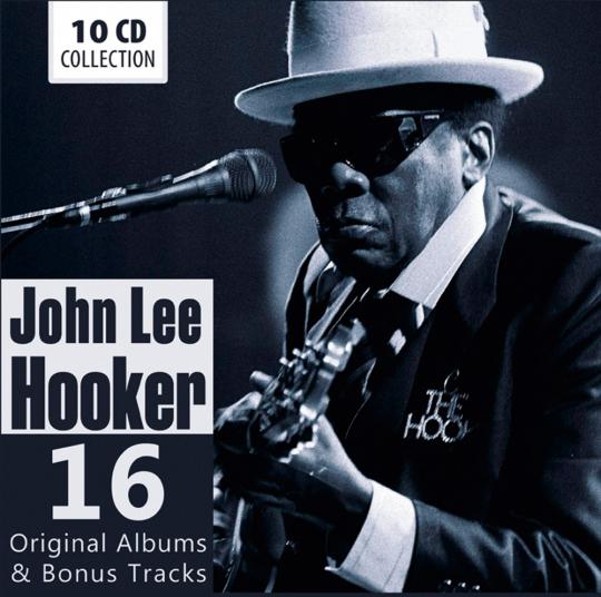 John Lee Hooker. 16 Original-Alben & Bonus Tracks.