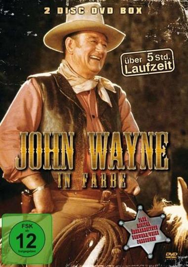 John Wayne in Farbe. 2 DVDs.