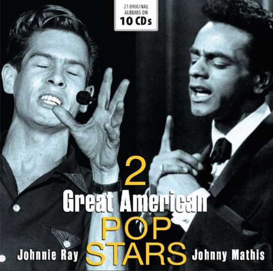 Johnnie Ray & Johnny Mathis. 2 Great American Pop Stars. 10 CDs.