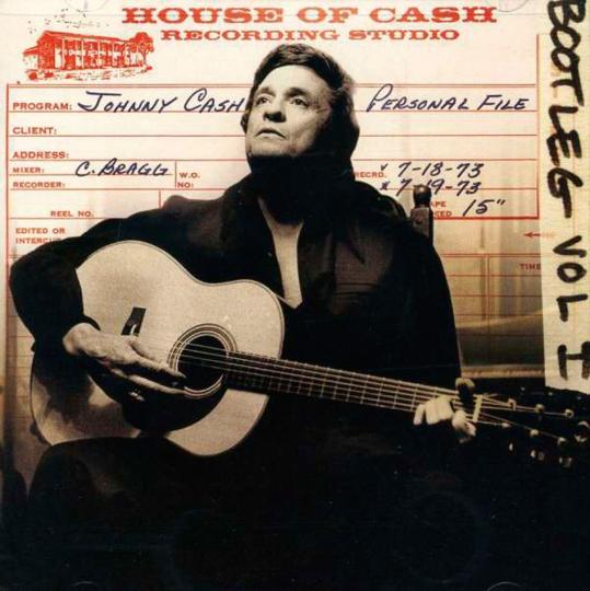 Johnny Cash. Bootleg, Vol. 1: Personal File. 2 CDs.
