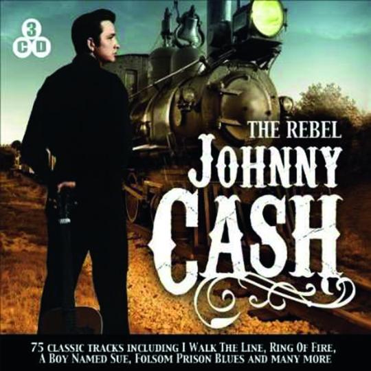 Johnny Cash. Rebel. 3 CDs.