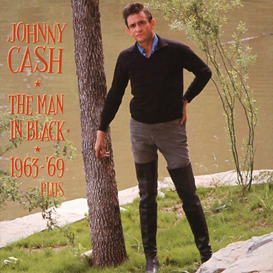 Johnny Cash. The Man in Black: 1963-1969. 6 CDs.