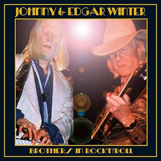 Johnny Winter & Edgar. Brothers In Rock 'n' Roll. CD.