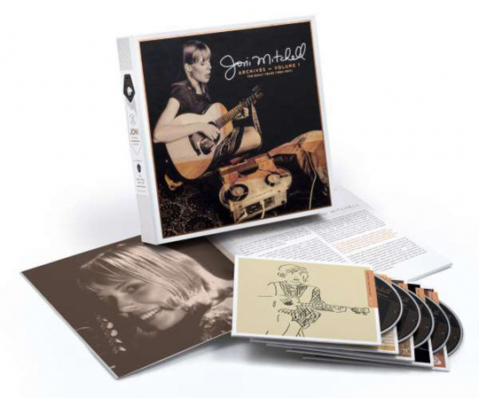 Joni Mitchell. Archives Vol.1: The Early Years. 5 CDs.