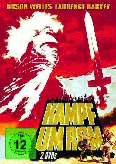 Kampf um Rom (Teile 1 & 2). 2 DVDs.