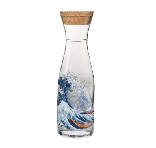 Karaffe Die Welle nach Hokusai.