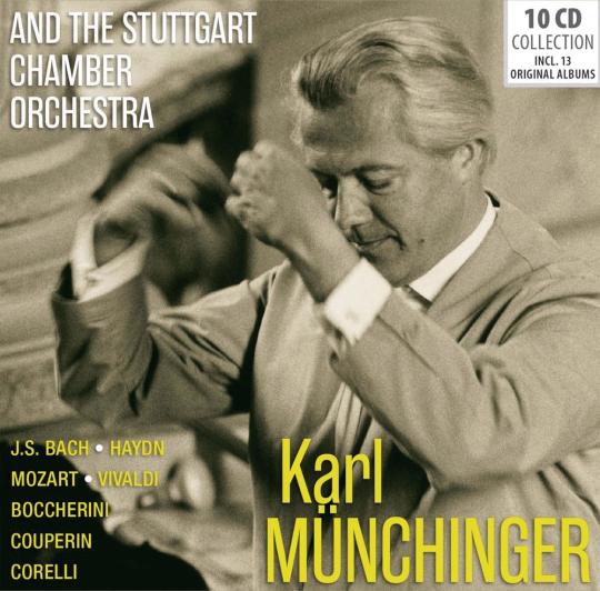 Karl Münchinger. And The Stuttgart Chamber Orchestra. 10 CDs.