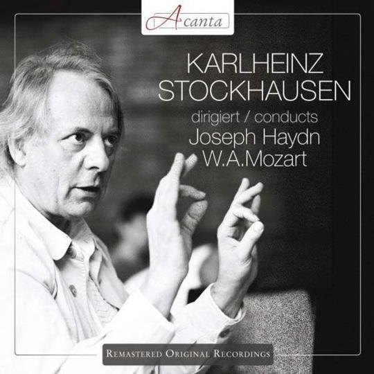 Karlheinz Stockhausen. Dirigiert Haydn + Mozart. CD.