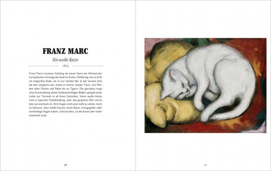 Katzen in der Kunst.