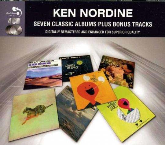 Ken Nordine. Seven Classic Albums plus Bonustracks. 4 CDs.