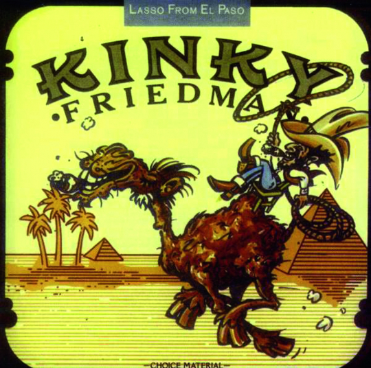 Kinky Friedman. Lasso From El Passo. CD.