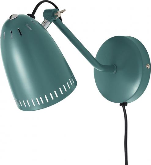 Kleine Wandlampe, entengrün.