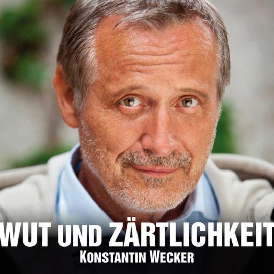 Konstantin Wecker. Wut und Zärtlichkeit. CD.