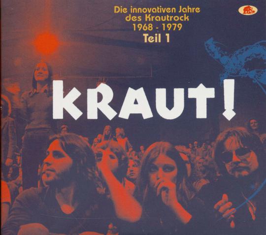 KRAUT! - Die innovativen Jahre des Krautrock 1968 - 1979 - Teil 1. 2 CDs.