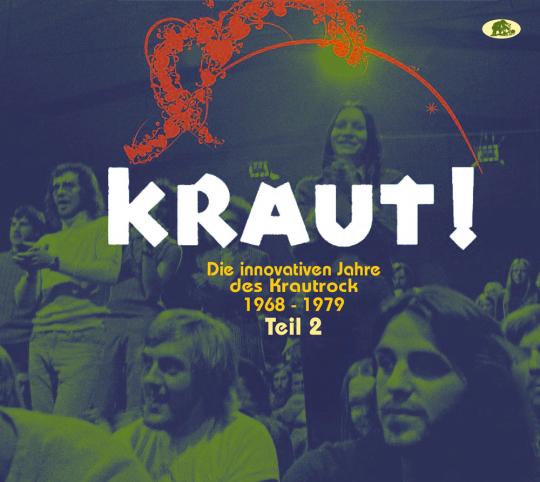KRAUT! - Die innovativen Jahre des Krautrock 1968 - 1979 Teil 2. 2 CDs.