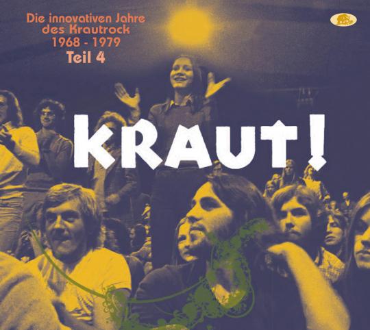 KRAUT! - Die innovativen Jahre des Krautrock 1968 - 1979 - Teil 4. 2 CDs.
