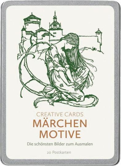 Kreative Karten »Märchen-Motive«.