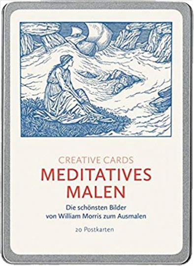 Kreative Karten »Meditatives Malen«.