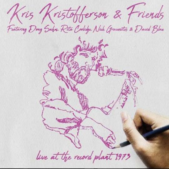 Kris Kristofferson. Record Plant Sausalito April 2, 1973. 2 CDs.