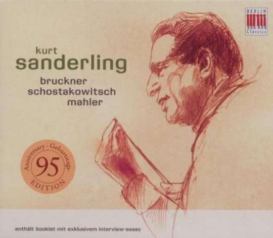 Kurt Sanderling. Frühe Eterna Aufnahmen. 2 CDs.