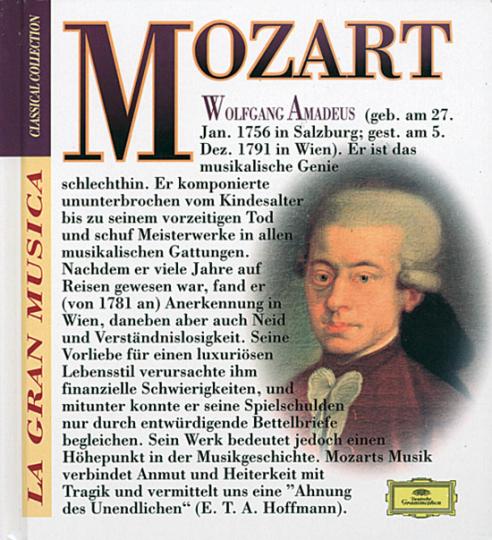 La Gran Musica. Classical Collection. Wolfgang Amadeus Mozart. Eine Kleine Nachtmusik. Symphonie Nr. 40 u. 41.