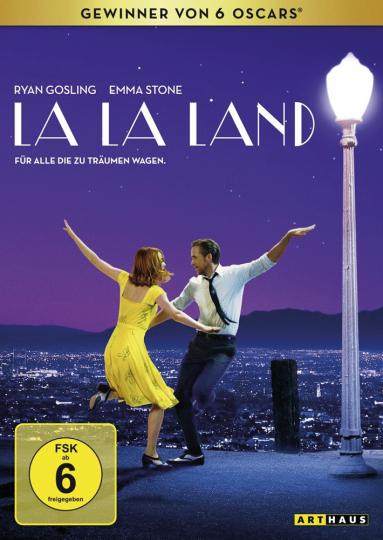 La La Land. DVD.