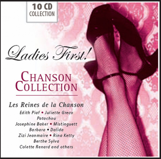 Ladies First! Chanson Collection. 10 CDs.