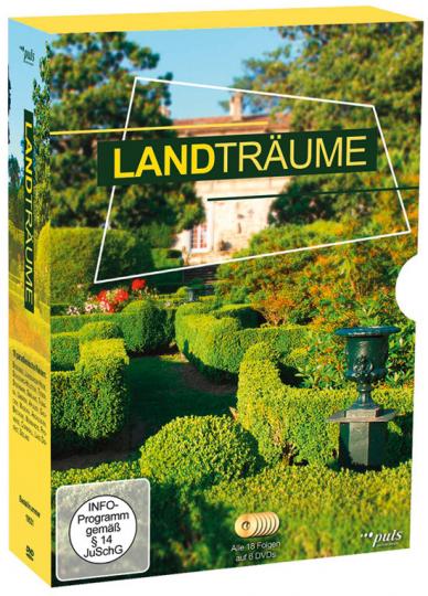 Landträume. Alle drei Staffeln (arte). 11 DVD-Box. 36 paradiesische Reisen.