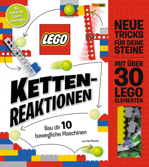 LEGO® Kettenreaktionen: Bau dir 10 bewegliche Maschinen.