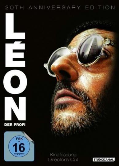 Leon. Der Profi (20th Anniversary Edition). 2 DVDs.