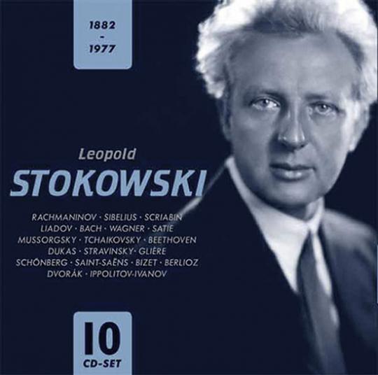 Leopold Stokowski 1882-1977.