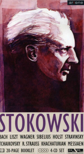 Leopold Stokowski. Set im Buchformat. 4 CDs.