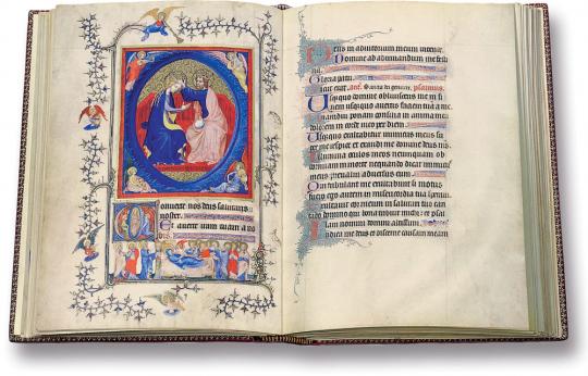 Les Très Belles Heures de Nôtre-Dame du Duc de Berry. Faksimile und Kommentarband. Limitierte und nummerierte Auflage.