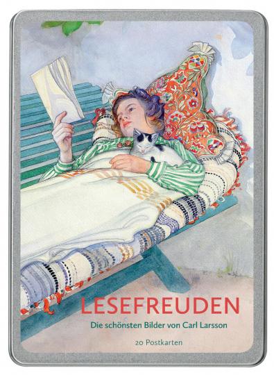 Lesefreuden. Die schönsten Bilder von Carl Larsson.