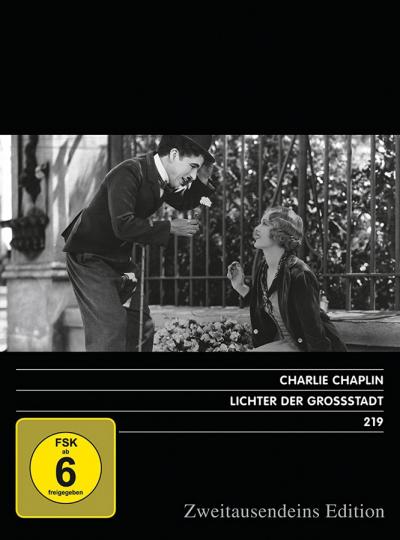 Lichter der Großstadt. Zweitausendeins Edition Film 219. DVD.
