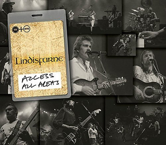 Lindisfarne. Access All Areas. CD + DVD.