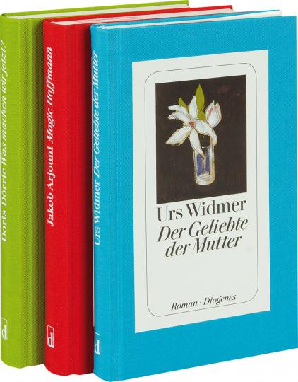 Literatur von Diogenes 2. 3 Bände im Paket.