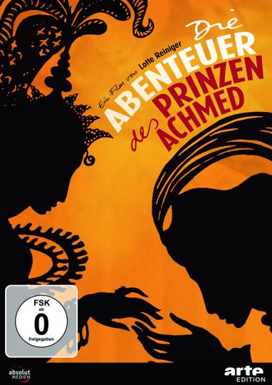 Lotte Reiniger. Die Abenteuer des Prinzen Achmed. DVD.