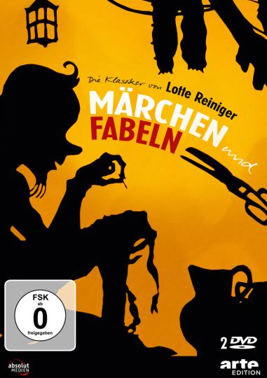 Lotte Reinigers Märchen & Fabeln. 2 DVDs.
