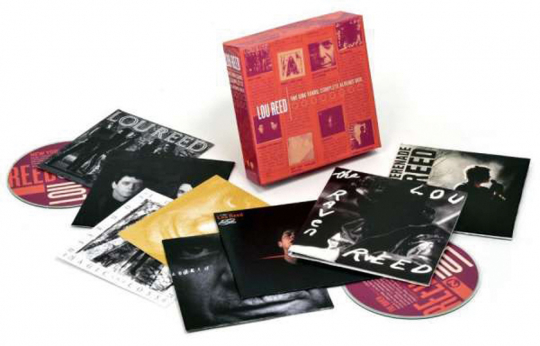 Lou Reed. The Sire Years: Complete Albums Box. 10 CDs.