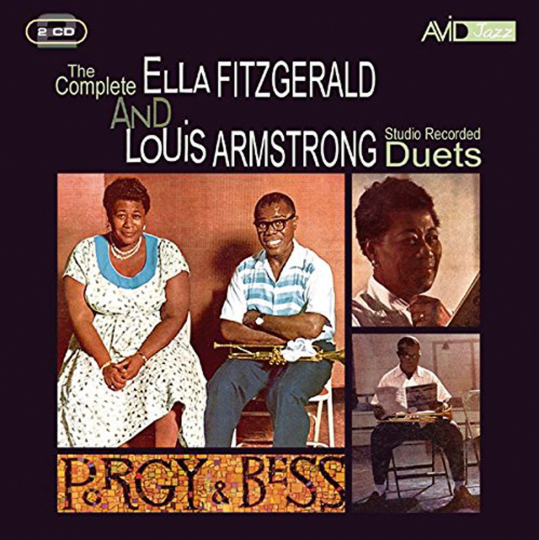 Louis Armstrong & Ella Fitzgerald. The Complete Ella Fitzgerald & Louis Armstrong (Duets). 2 CDs.