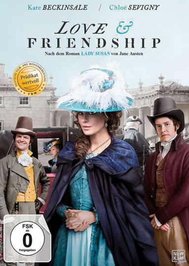 Love & Friendship (nach »Lady Susan« von Jane Austen). DVD.