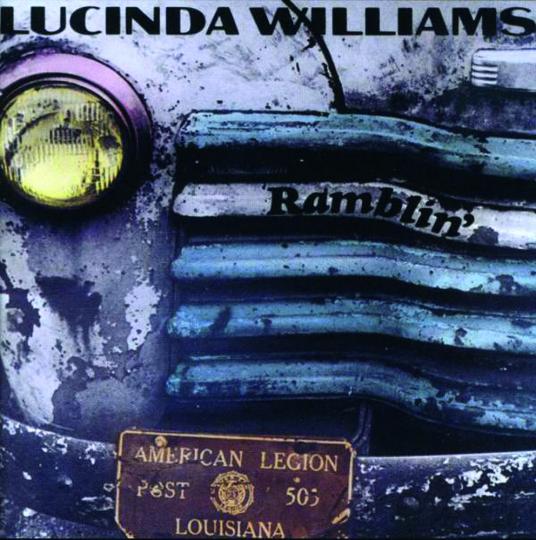 Lucinda Williams. Ramblin'. CD.