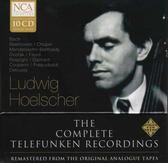 Ludwig Hoelscher. The Complete Telefunken Recordings. 10 CDs.