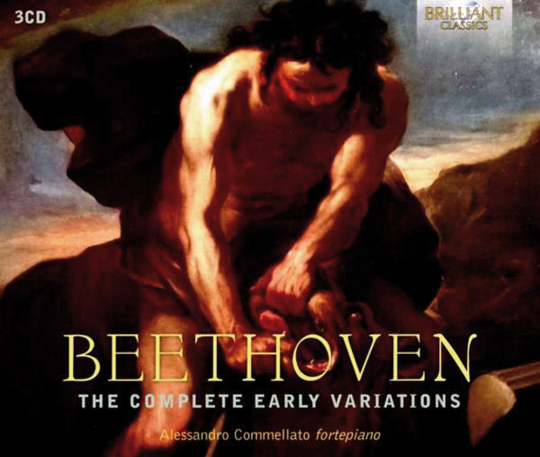 Ludwig van Beethoven (1770-1827). Variationen für Klavier. The Complete Early Variations. Alessandro Commellato. 3 CDs.