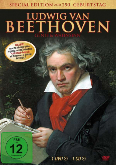 Ludwig van Beethoven (Special Edition). DVD plus CD.