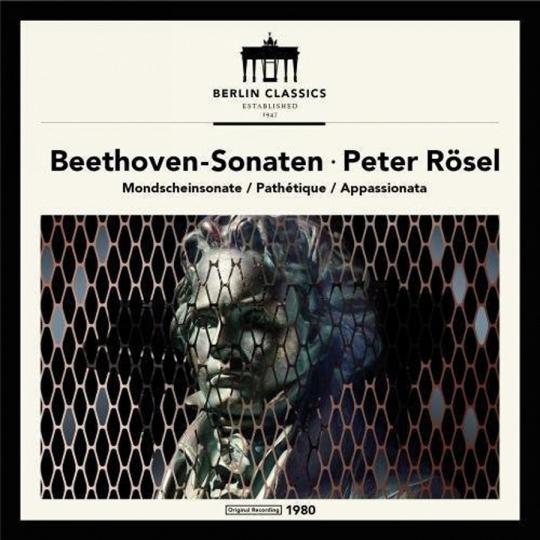 Ludwig van Beethoven: Klaviersonaten. Vinyl LP.