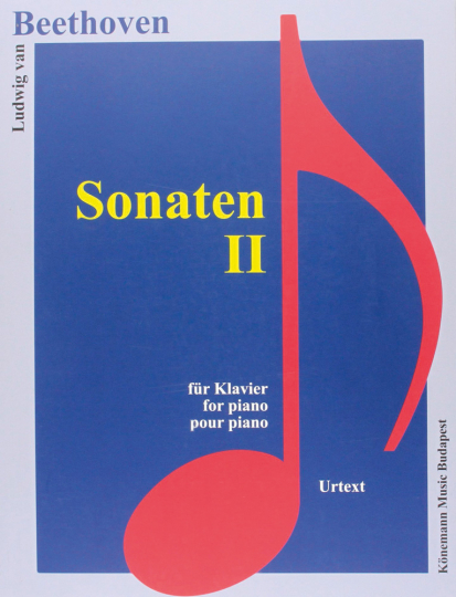 Ludwig van Beethoven. Sonaten II. Noten für Klavier.